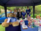 4 Bramhall Duck Race Volunteers with Mayor