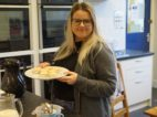 3 Jess serving up mince pies at the fair