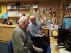 11 Ian helping Ray on the desktop PC