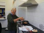 8 Volunteer John cooking refreshments